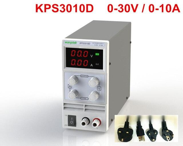 KPS3010D регулируемый высокой точности двойной светодиодный дисплей переключатель DC Питание функция защиты 30V10A 110 В-230 В diy Регулируемый