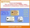 Livre o Navio 2 pcs HiFi particularmente recomendado TCXO 22.579200 MHz PLL baixa temperatura-compensação de ruído de fase do oscilador de cristal