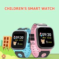 DS61 Children Smart Watch Phone Camera with TF Sim Card SOS Call GPS LBS WIFI Track Location Positioning Kids Baby Smart Watch