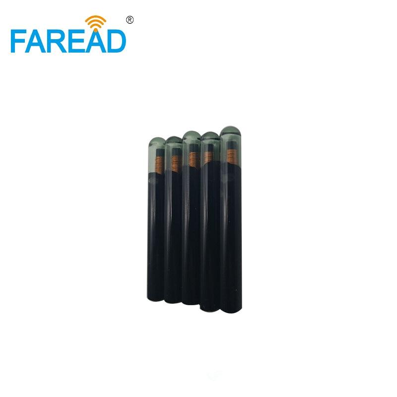 100pcs Free Shipping Rewriteable EM4305 With EM4100 Protocol, 4x22mm, 125Khz Glass Tag Via FedEx