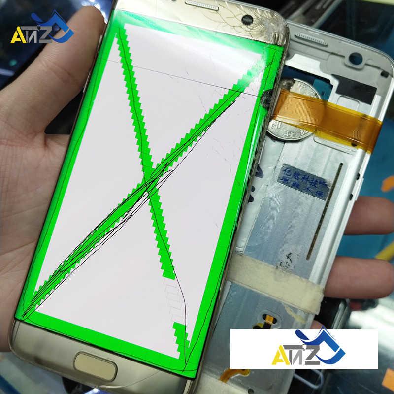 إصلاح حافة الشاشة انفصال الزجاج ممارسة شاشات lcd لسامسونج S7Edge/S8 حافة/S8 زائد/نوت 8 G935/G955/N950 كسر الزجاج نقطة الشاشة