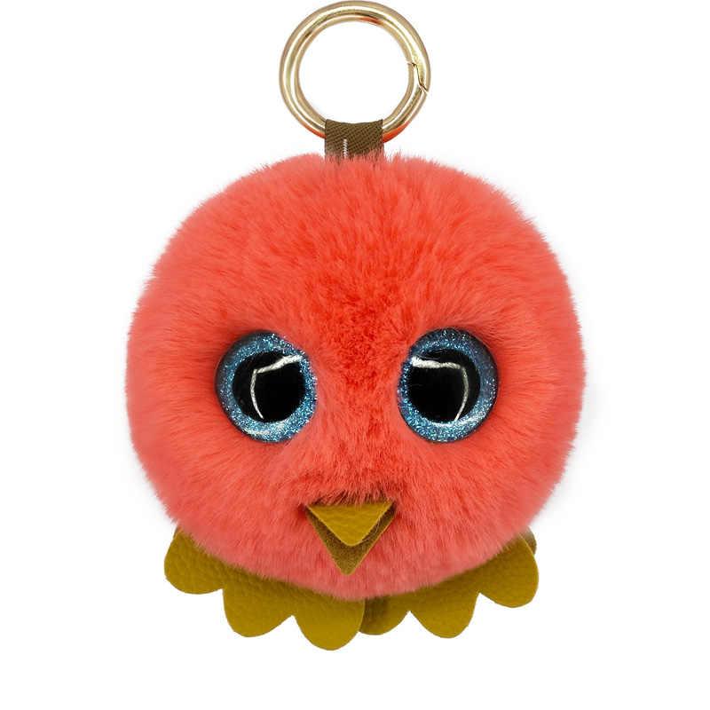 ใหม่น่ารัก Pompon Chicks Key Chains แฟชั่นกระเป๋าถือจี้ส่วนบุคคลพวงกุญแจอุปกรณ์ตกแต่งมิตรภาพของขวัญน่ารัก