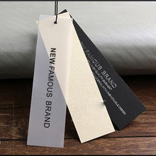 Custom Special Paper Card Clothing Tags