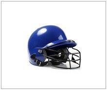 Hit Helmet Binaural Baseball Wear Mask Shield Head Protector Face Softball Fitness Body head protection