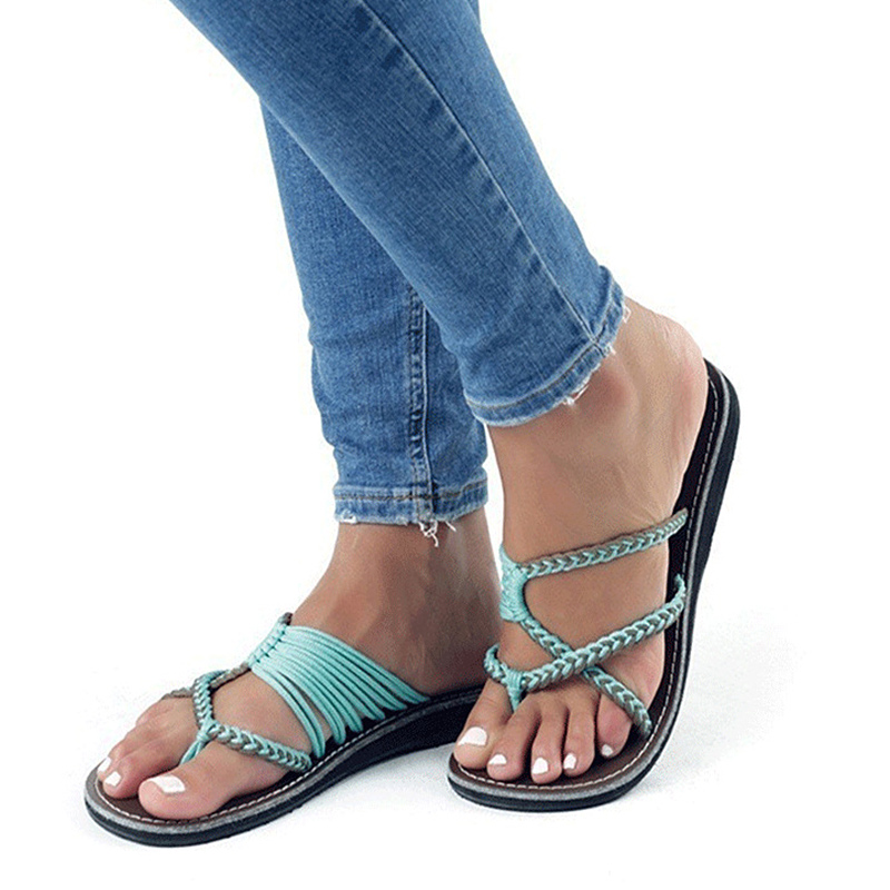 Women Sandals Plus Size 35-43 Flat Sandals Summer Shoes Woman Low Heel Flip Flops Women Beach Shoes Mix Color Zapatos Mujer women sandal cork slippers summer sandals flats flip flops plus size zapatos mujer sandalias femininas mix color plus size 35 42