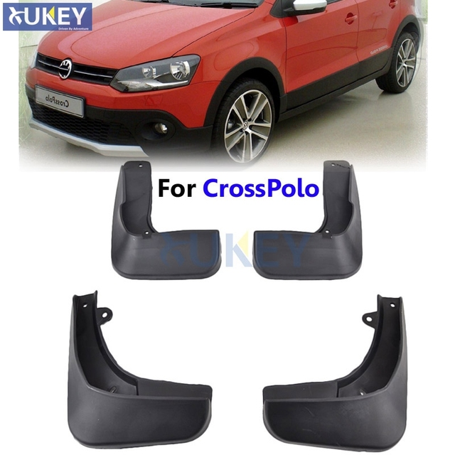 For Vw Crosspolo Cross Polo 2011 2016 Front Rear Mud Flaps Mudflaps