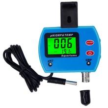 Digital 3 in 1 pH tester ORP meter temperature quality purity test instrument measuring 0.00 ~ +-1999mV Aquarium 20%Off