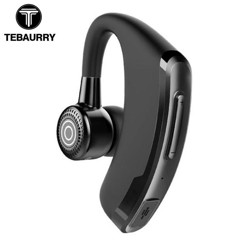 TEBAURRY P9 Business Bluetooth Headset With Mic Voice Control Handsfree Wireless Bluetooth