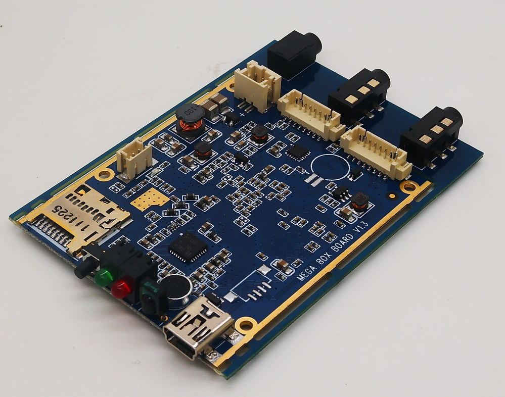 720P Real time 1CH AHD Mini DVR PCB Board 30fps support 128GB sd Card Security Digital