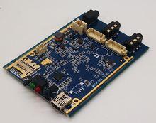 720 P echtzeit 1CH AHD Mini DVR Platine 30fps unterstützung 128 GB sd-karte Sicherheit Digital Recorder