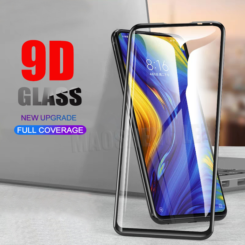 New 9DTempered Glass For Xiaomi Mi Mix 2 2S 3 Full Cover Screen Protector 9H Glass For Xiaomi Mi Mix 2S 3 Tempered Glass Film