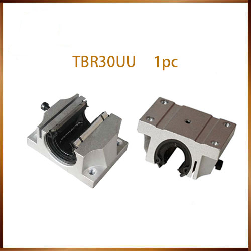 Free shipping 1PC TBR30UU 30mm Linear Ball Bearing Support Block CNC Router 1pc tbr30uu 30mm linear blocks router table linear motion ball slide unit tbr30