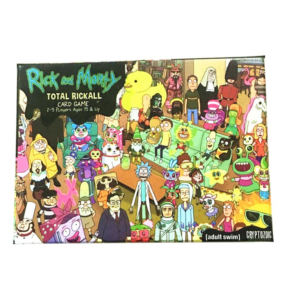 LeadingStar Rick And Morty Total Rickall Card Game Play Game Cards Collection For Funny Toy