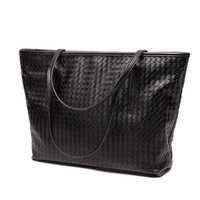 35 30 14cm Weaving PU Leather Women Messenger Bag Big Shoulder Bag Large Capacity Totes Famous