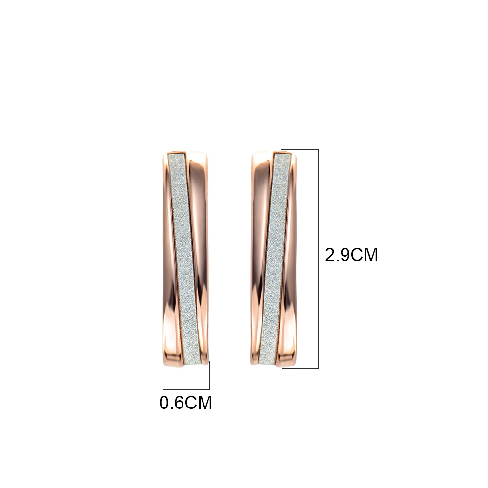 Image 5 - Viennois Stud Earrings for Woman Silver & Gold Color Female Small Earrings Mixed Color Brand Jewelry-in Stud Earrings from Jewelry & Accessories