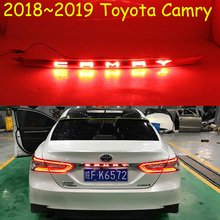 1 Chiếc Xe Ốp Lưng Họa Tiết Rằn Ri Nét Ta 016RAR Cho Xe Toyota Camry Phía Sau Đèn Aurion 2018 2019 LED Taillamp Cho Xe Camry Đuôi Xe phụ Kiện