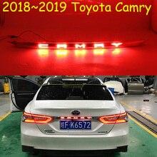 1 pçs amortecedor do carro luz traseira para toyota camry aurion 2018 2019 led taillamp para camry cauda luz acessórios do carro