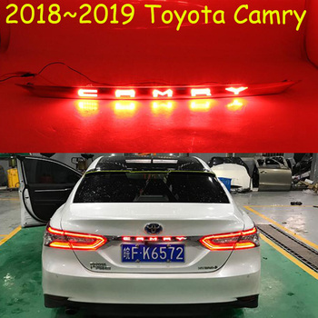 1pcs Car bumper taillight for Toyota Camry rear light Aurion 2018 2019 LED taillamp for camry tail light car accessories