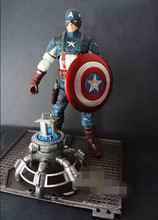 Marvel Avengers 2  Iron Man Captain America Action Figures Model Toys