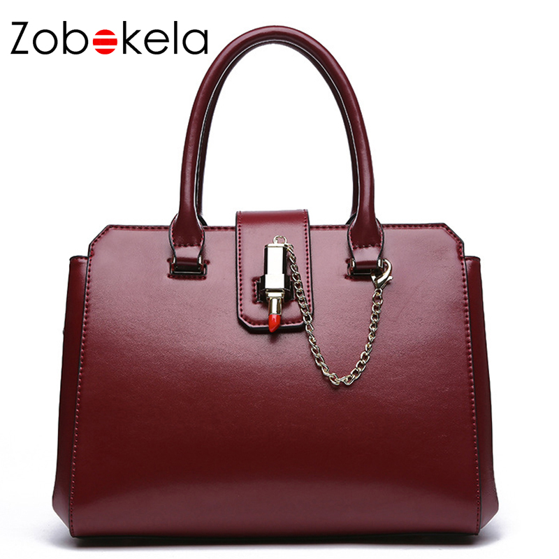 Zobokela Luxury Brand Summer Genuine Leather Women Handbag Female Hand Bag Wedding Shoulder Messenger Bag Tote Black Fashion New new genuine leather women handbag brand fashion summer design women s messenger shoulder bag tassel solid color casual tote 2017