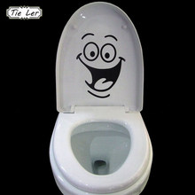 1PC Big Mouth Toilet Stickers Wall Decorations DIY Vinyl Home Decal Art Waterproof Posters Paper(China)