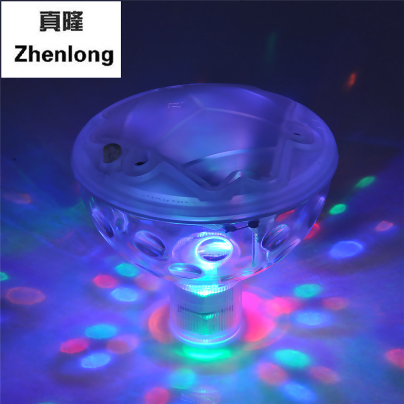 Glowing LED Underwater Fountain Light Show Waterproof Disco Party Float Spa Bathtub Lights Swimming Pool DJ lamp Pond Aquarium