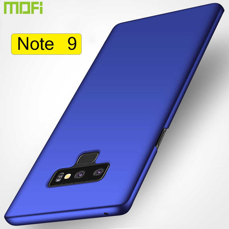 For Samsung Galaxy Note 9 Case Cover Mofi For Samsung Note 9 Case Hard Back Cover Soild Color Black Red Blue Ultra Thin Note9