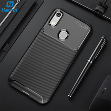 Hacrin Case For Huawei Y6 2019 Case Soft Carbon Fiber Protective Cover For Honor 8A 8A Pro Case On Huawei Y6 Prime 2019 Funda