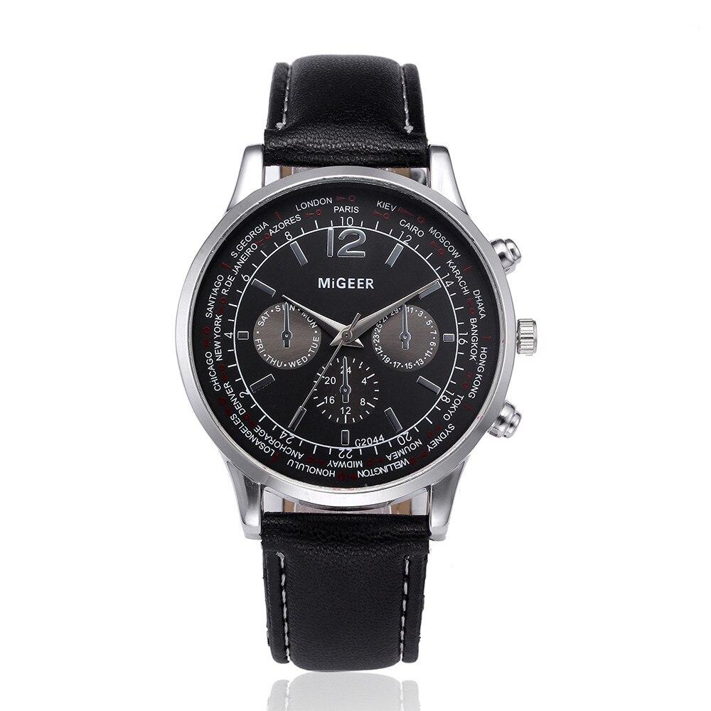 Herrenuhren Uhren Relogio Masculino Curren Herren Uhren Top Brand Luxus Leder Sport Uhr Männer Mode Chronograph Quarz Mann Uhr Wasserdicht Elegant Im Geruch