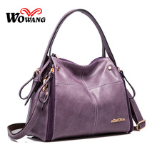 2016 New Women Leather Handbags Portable Shoulder Bag Fashion Leisure Women Messenger Bags Crossbody Bag Clutch Totes Sac a main