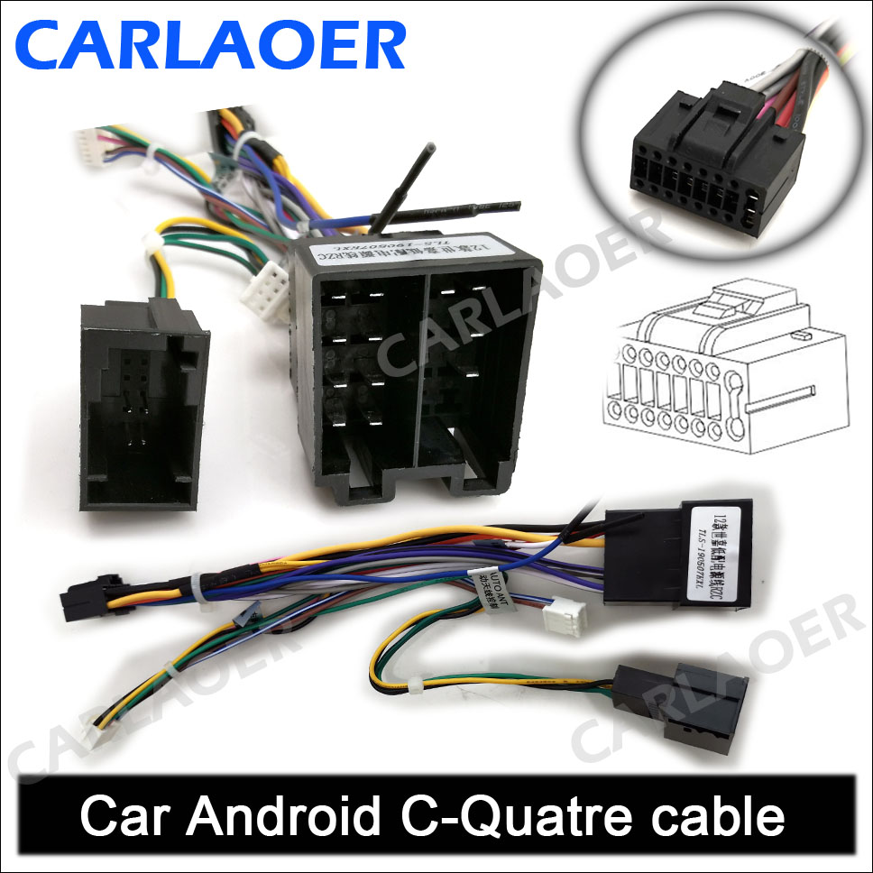 Car Android 雪铁龙 世嘉 12 Cable