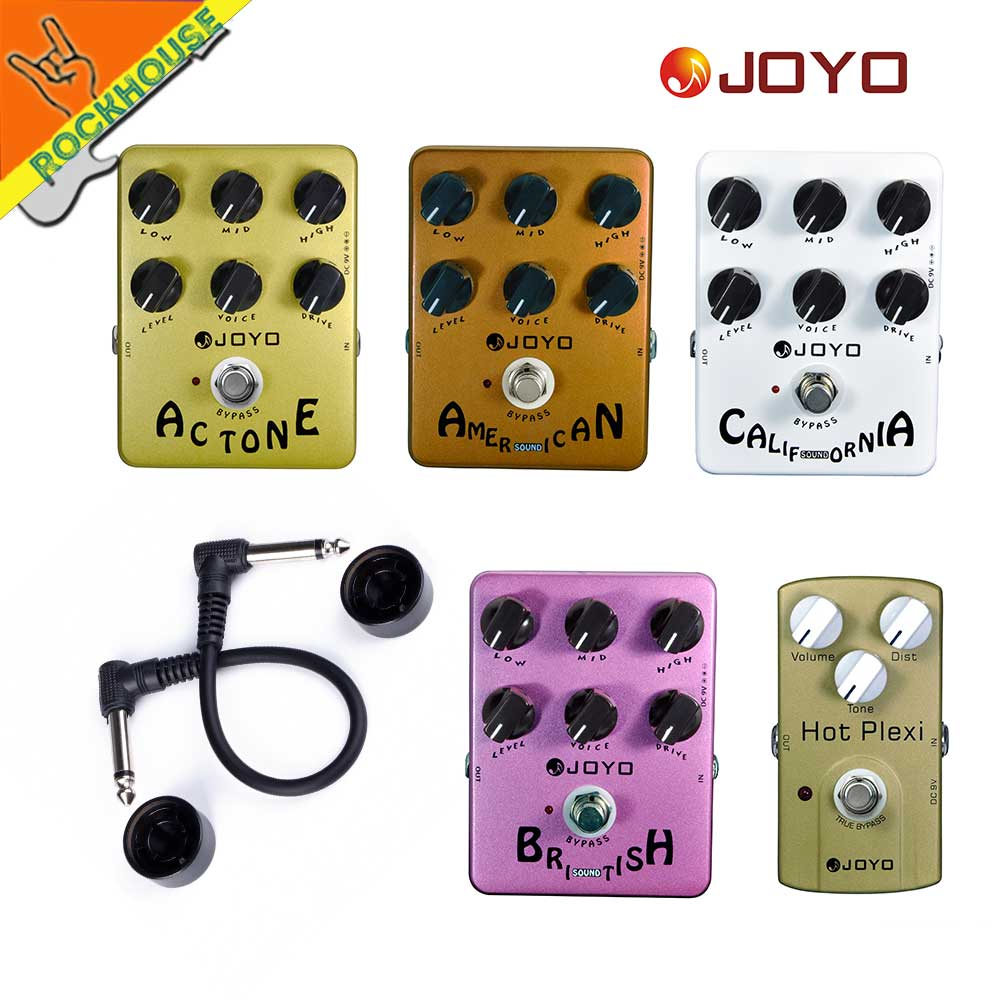 JOYO Guitar AMP Simulator Effects Pedal Distortion Pedal VOX Fander Marshall MESA Boogie Amplifier True Bypass