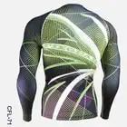 Ciclo abbigliamento uomo 2016 pieno stampa palestra attività esterna calzamaglia bicicletta da uomo a manica lunga camicette corsa e jogging formazione sport camicette - 4