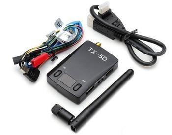 TX-5D FPV 5.8G 600mW 32 Channel  TX-5D HDMI to AV CVBS Wireless Transmitter for RC MultiCopter DJI Gopro QAV250 Quadcopter