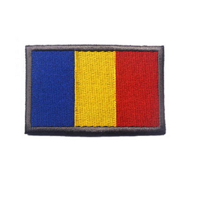 3d embroidery magic stickers flag of romania flag patch armband the flag of czech embroidery armband