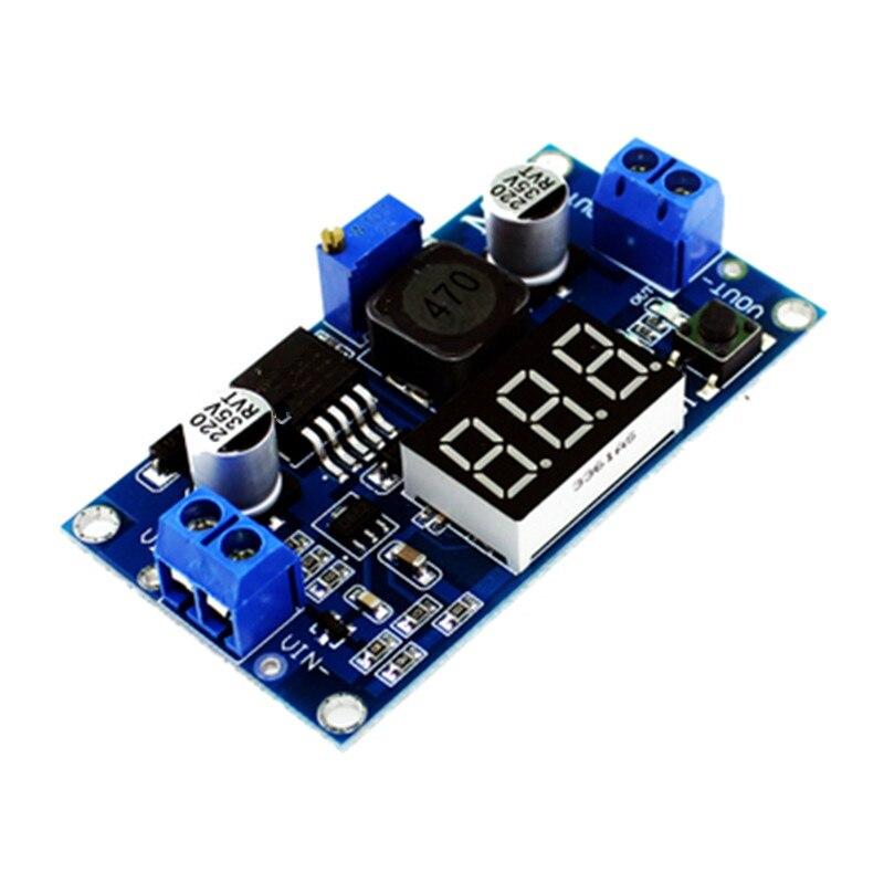LM2596 LM2596S LED Voltmeter ADJ DC - DC Step-down Step Down Adjustable Power Supply Module With Digital Display
