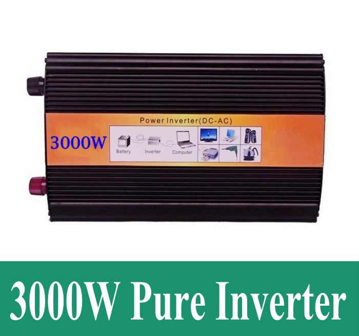 Pure Sine 24V Wave Inverter 6000W Peak 3000W Pure Sine Wave inverter 24V DC To 230/220V~240V AC 3000Watt peak 6000w pure sine wave high frequency
