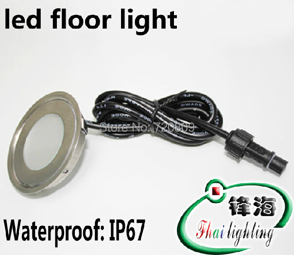 shpping livre dc12v ultrafinos lampada de assoalho levou recesso passo inground luz ao ar livre iluminacao