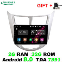 2018 New Funrover 2g 32g Android 8 0 Car Dvd Gps Player 9 Inch For Hyundai