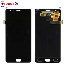 5Pcs For Oneplus 3T Lcd Screen 5.5 inch For Oneplus 3T Display Screen Tested Screen With Frame Replacement For Oneplus 3T A3010