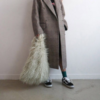 Special Design New Handbag Bulk Bag Imitation Fur Feather Street Fashion Design Exclusive Package Large Shipping