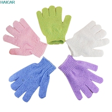 2 Pairs Take A Shower Bath Towel Gloves Exfoliating Gloves Household glove Levert Dropship mar9