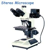 1 pc Microscópio Metalográfico Análise da Estrutura de Metal Profissional Placa de Guia de Luz de Detecção de Microscópio Estéreo SGO 2003|Microscópios| |  -