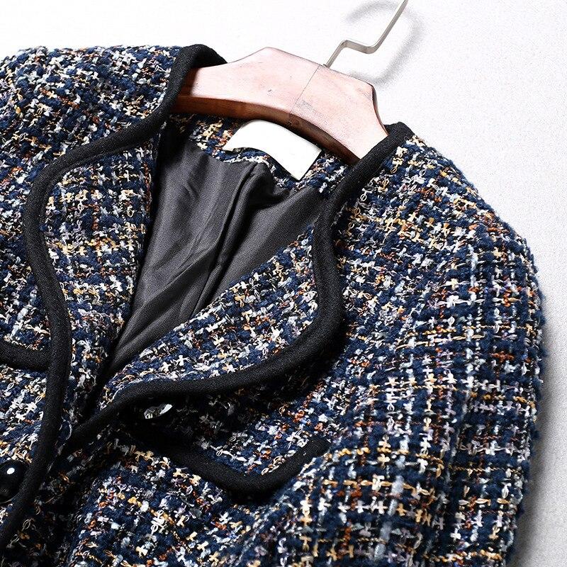 Rue Gros Perles Noir La Tendance Ol Boutique Dames Qualité Luxe En Manteau Veste Tir Femmes rouge Noble De Top OwHaqz