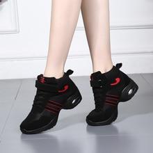 Zapatos de baile zapatos de fondo suave transpirable mujeres y niños Jazz  Hip Hop Zapatos Zapatillas 4dcca7262e7