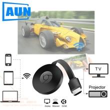 AUN אלחוטי HD Dongle, אלחוטי אותו מסך, תמיכת חיבור מקרן. טלוויזיה. צג (HD קלט), אותו מסך טלפון, מחשב.