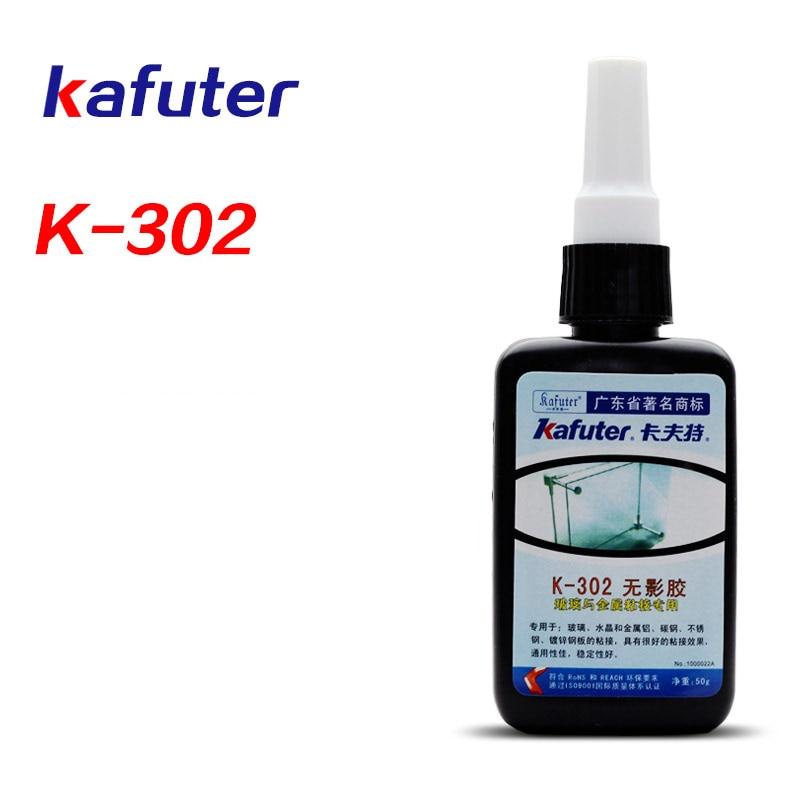 Strong 50g Kafuter K-302 UV Glue Acrylic Transparent Adhesive UV Curing Adhesive
