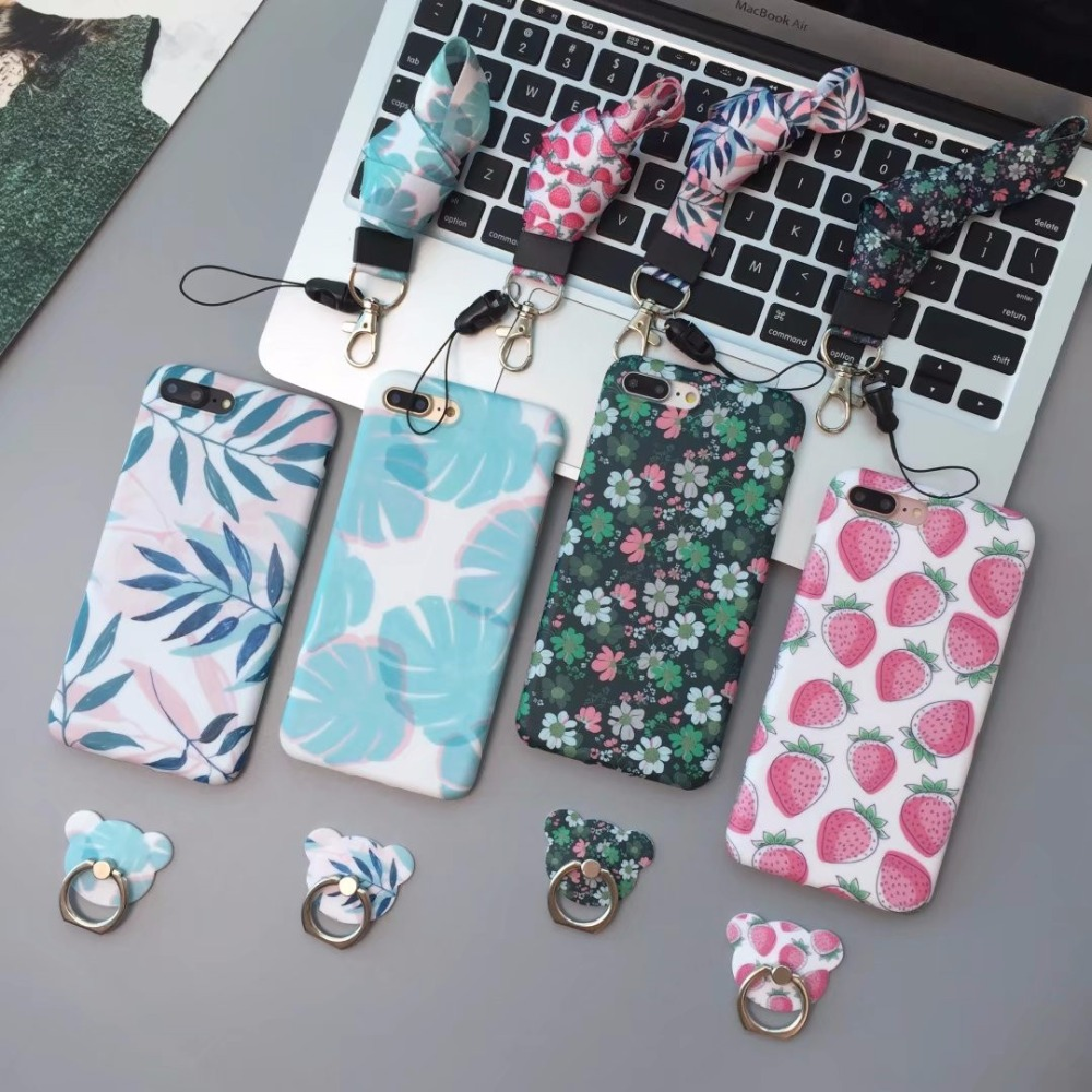 New Mobile Accessories Lanyard Bracket phone case For iphone