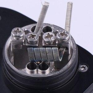 Image 1 - Clapton XFKM 100 pçs/caixa Alienígena NI80 SS316L a1 Fios de Aquecimento Nichrome Fio de Alta Qualidade fused Clapton Para RDA Atomizador RTA Bobina