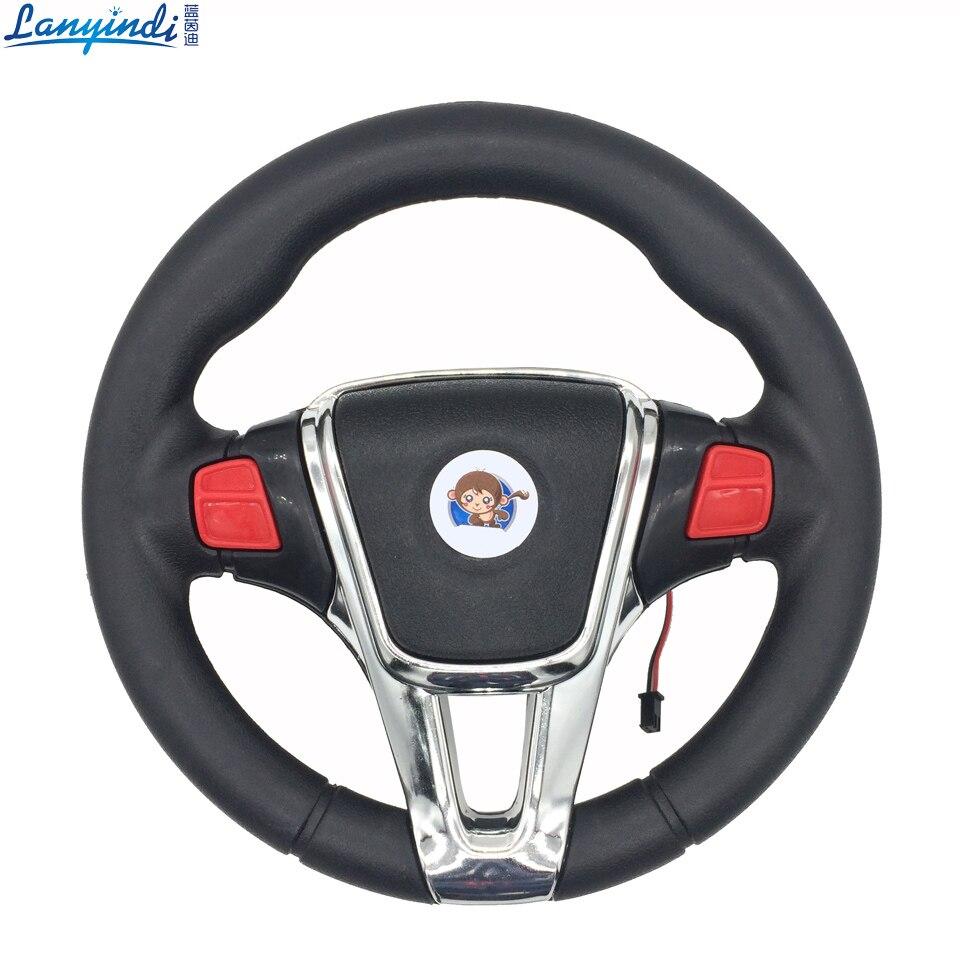 Children electric car steering wheel 20 cm ,Kid's toy car ...